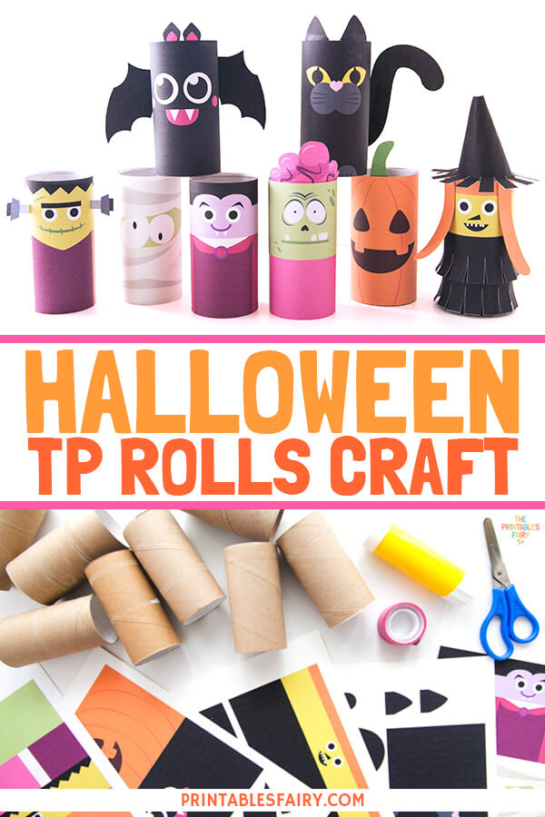 Halloween TP Rolls Craft