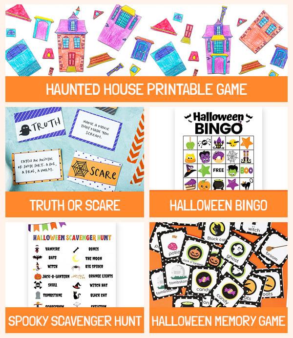 Halloween Printable Games